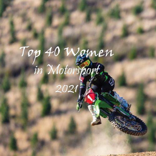 Top 40 Women in Motorsport 2021