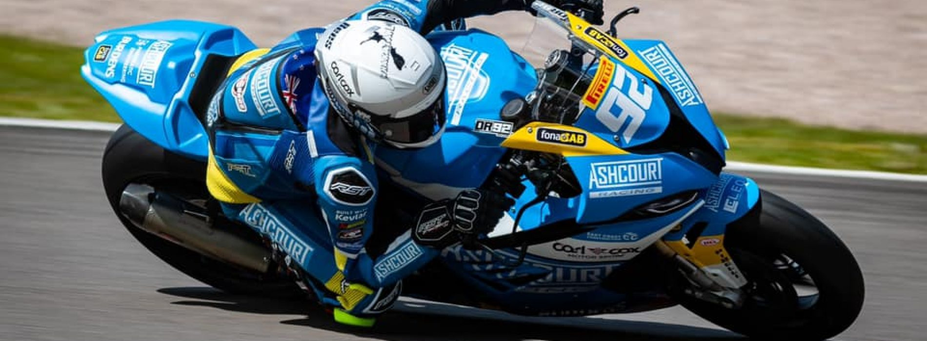 Damon Rees prepares for up-coming 2021 Bennetts British SBK Championship