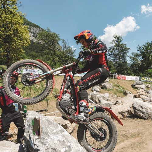 Laia Sanz takes Day 1 victory at FIM Trials GP- remarkable rider/driver cross disciplines