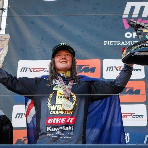 Courtney Duncan wins 3rd consecutive Women Motocross World Championship Title