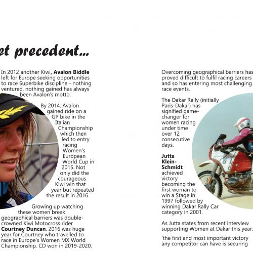 Women who set precedent in Motorsport